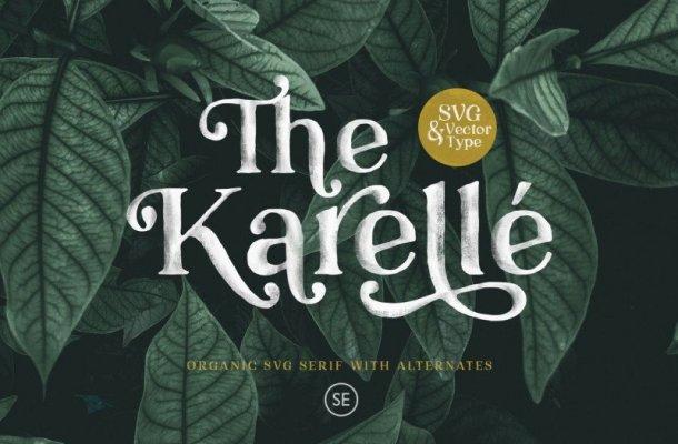 Karelle Serif Font Free
