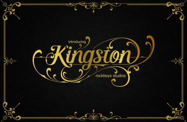 Kingston Blackletter Font
