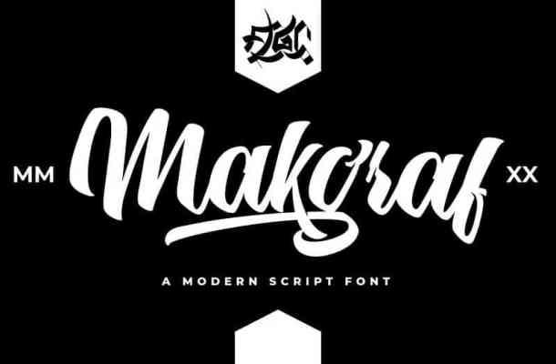 Makgraf Script Font Free