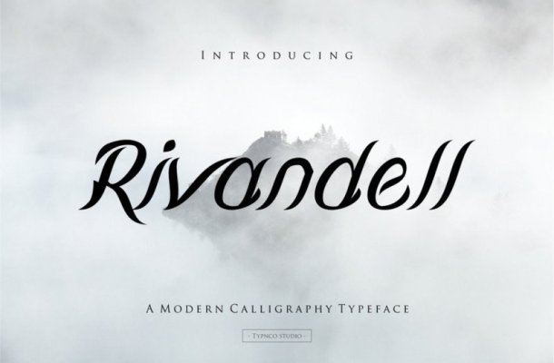 Rivandell Script Font Free