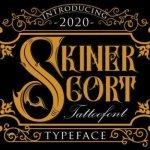 Skiner Scort Blackletter Font