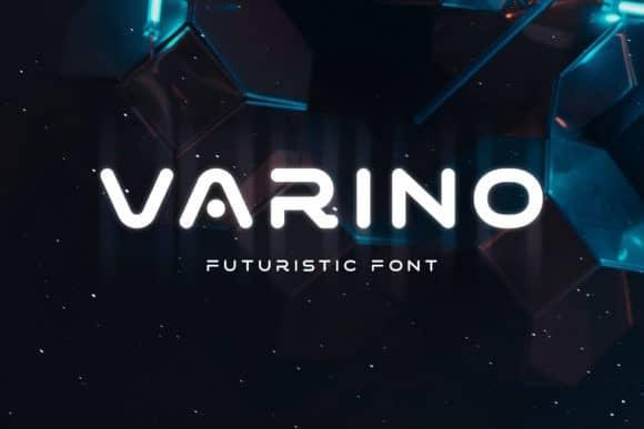 Varino Display Font