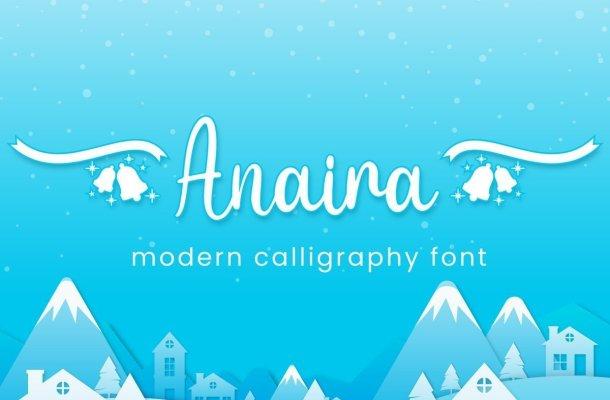 Anaira Font Free