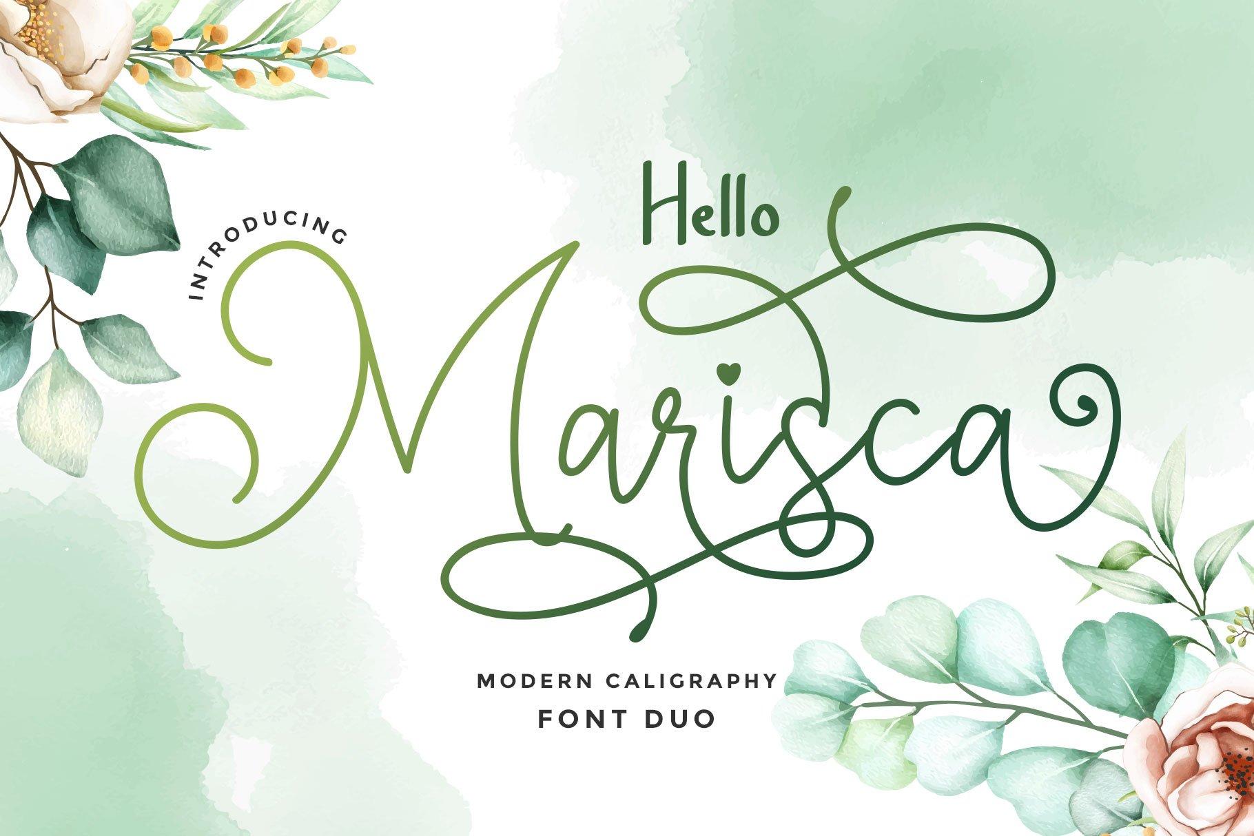 Hello-Marisca-Font
