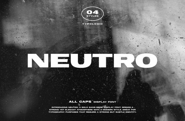 Neutro Font