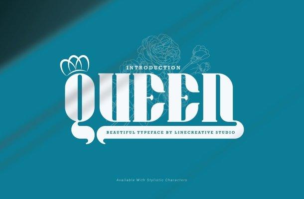 Queen Typeface