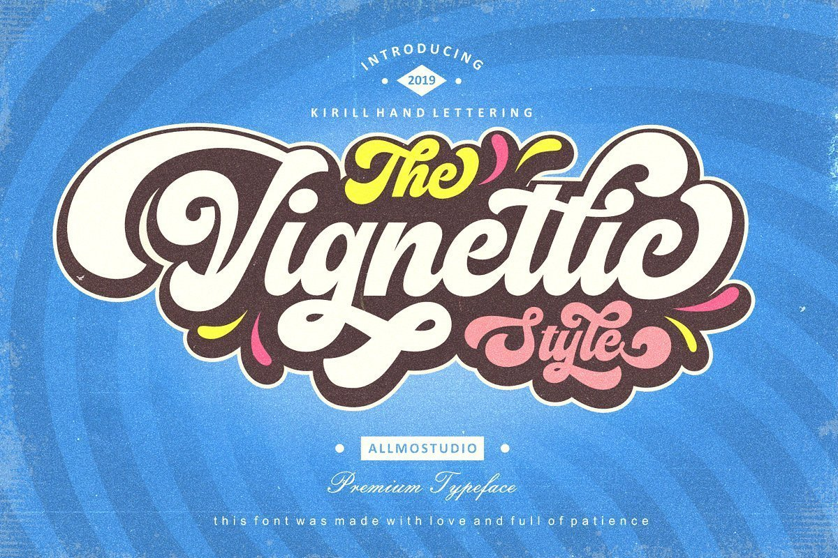 Vignettic-Font