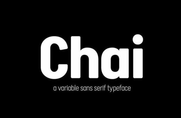 Chai Sans Serif Font