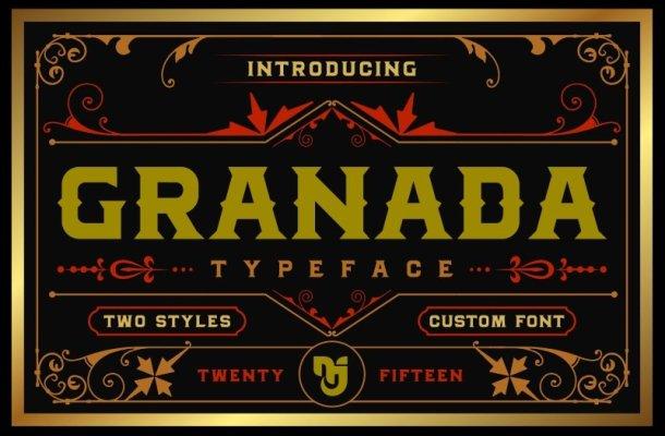 Granada Typeface Free