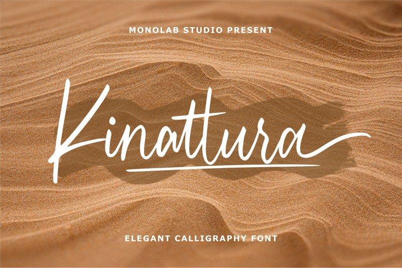 kinattura-script-font-66