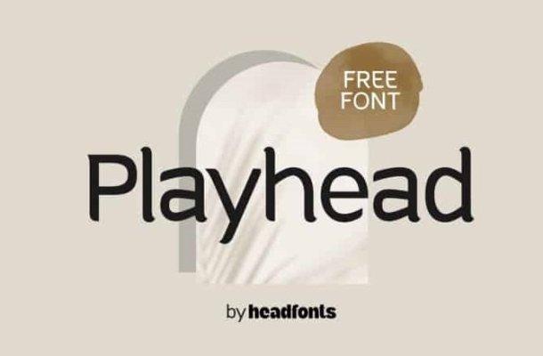 Playhead Serif Font