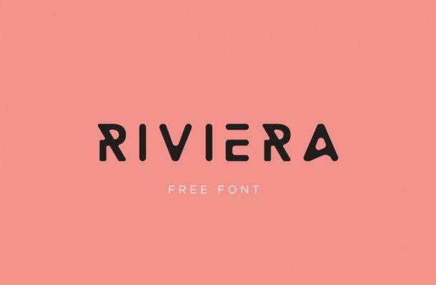 Riviera Display Font