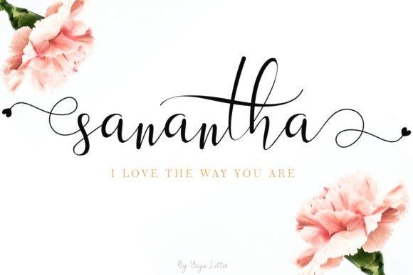 sanantha-font-4