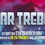 Star Trebek Display Font