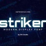 Striker Display Font