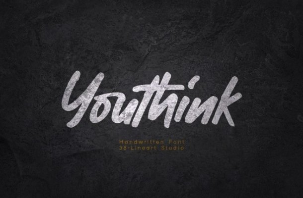 Youthink Display Font