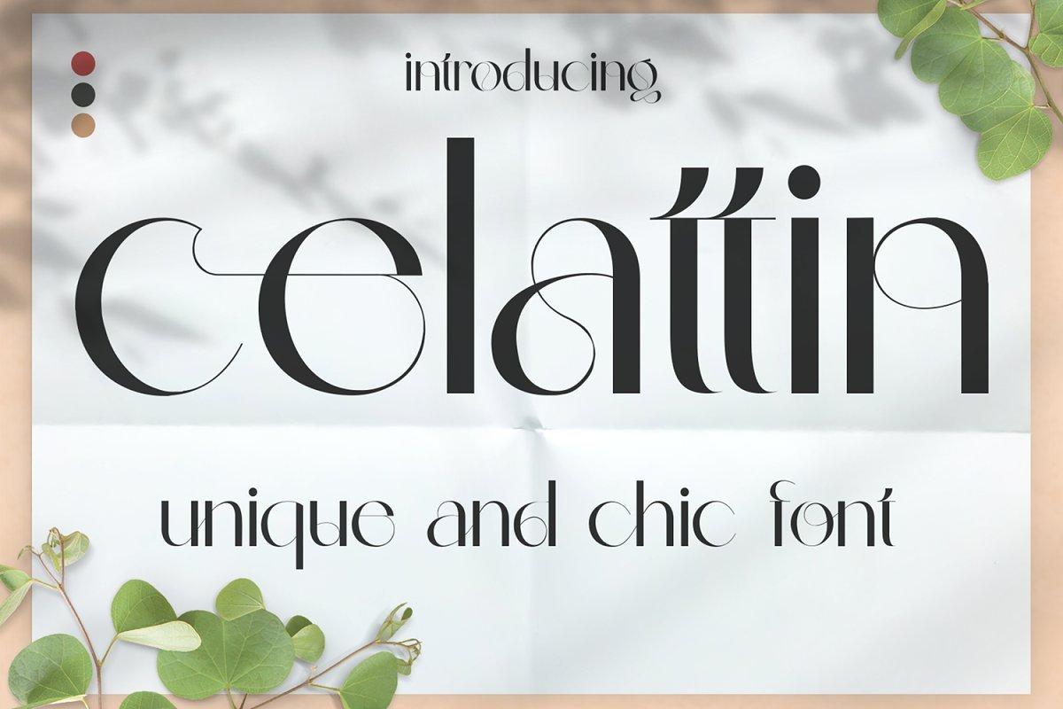 Celattin-Font