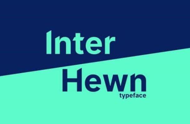 Inter Hewn Font