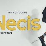 Necis Font