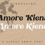 Amore Kiena Font