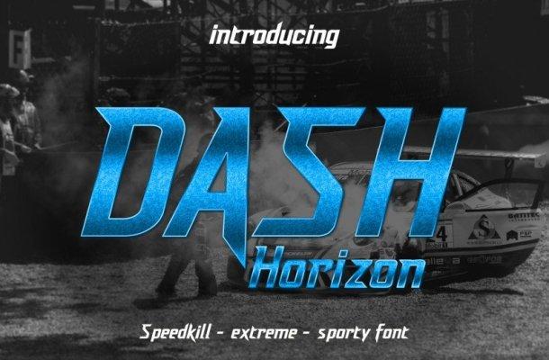 Dash Horizon Font
