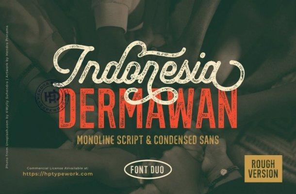 Indonesia Dermawan Font