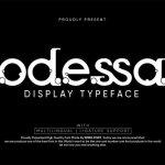 Odessa Display Font