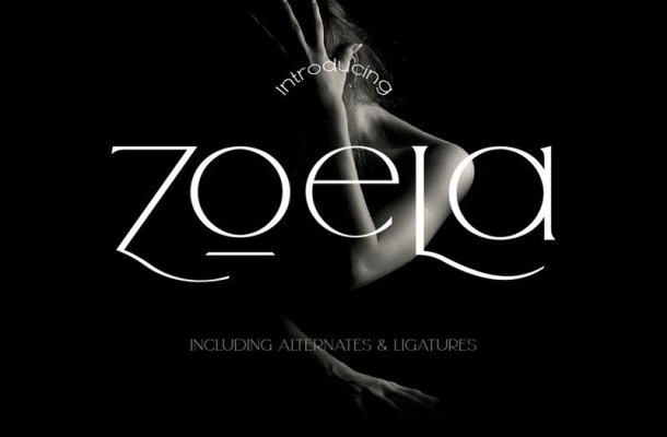 Zoela Serif Font