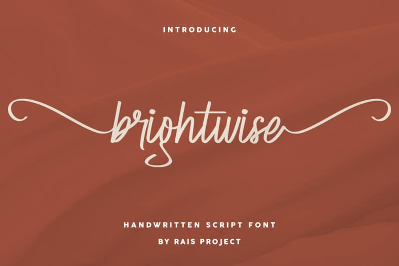 Brightwise Handwriting Font