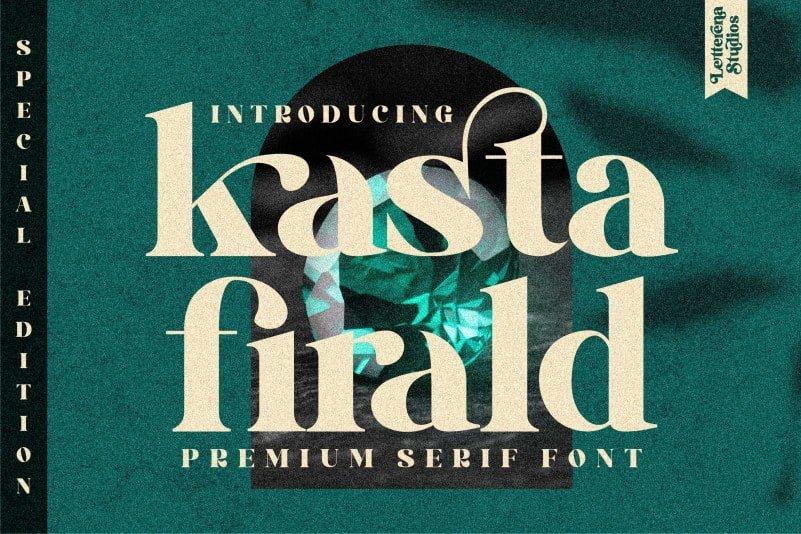 Kasta Firald Serif Font