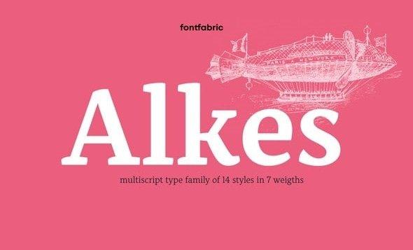 Alkes Font