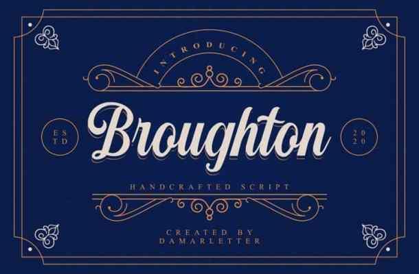 Broughton Font
