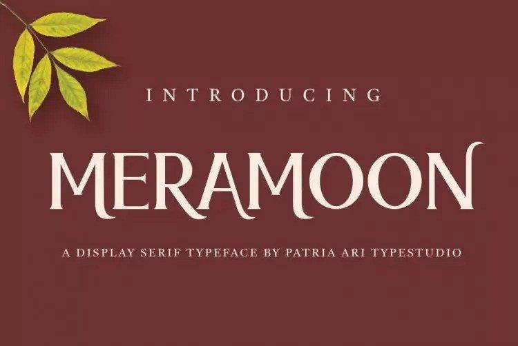 meramoon-font-4