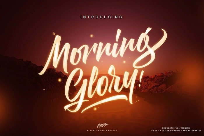 morning-glory-font-4