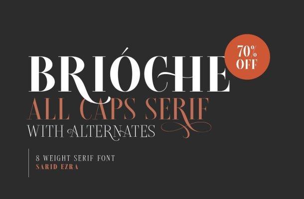 Brioche Font