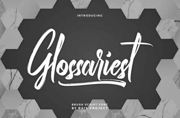 Glossariest Font