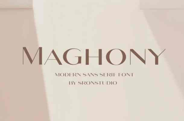 Maghony Font