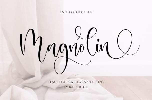 Magnolin Beautiful Font