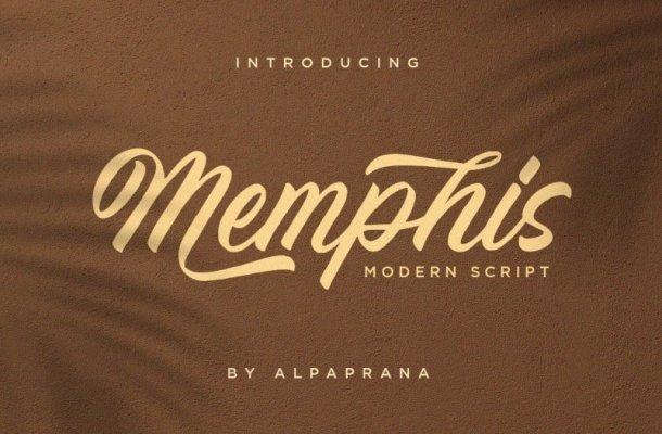 Memphis Modern Font