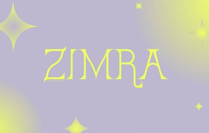 Zimra Display Font