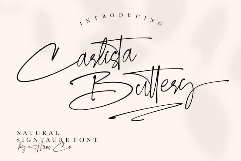 carlista-buttery Font