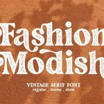 Fashion Stamp Font
