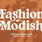 Fashion Stamp Font