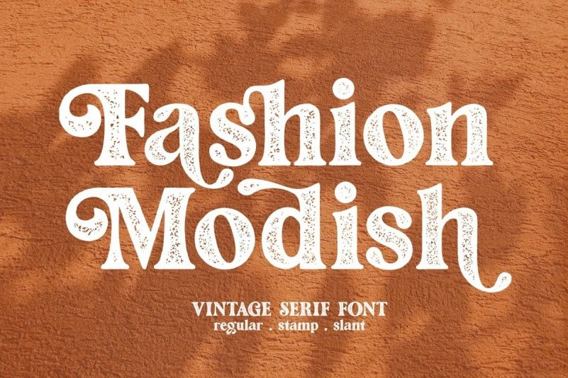 fashion-stamp Font
