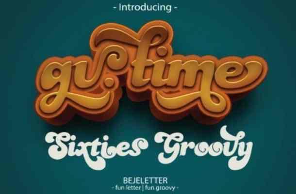 Gv. Time Font