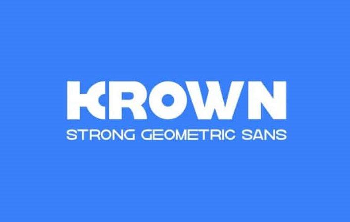 krown-sans-serif-font