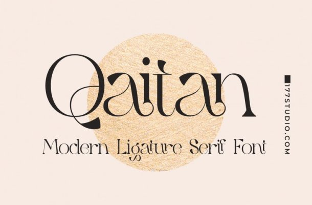 Qaitan Modern Font