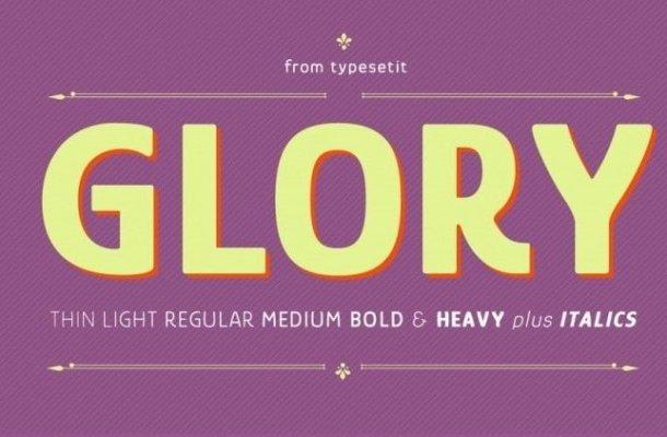 Glory Font
