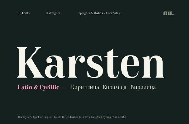 Karsten Font