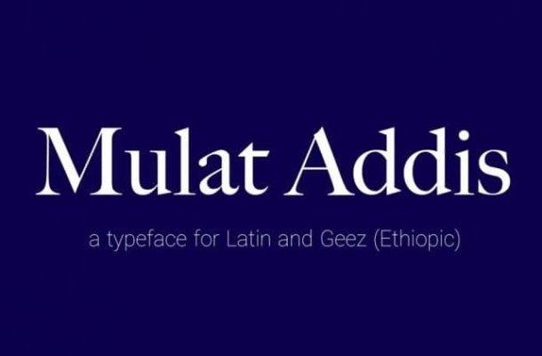 Mulat Addis Font
